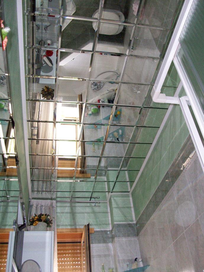 Specchio a soffitto - Vetreria Recrosio