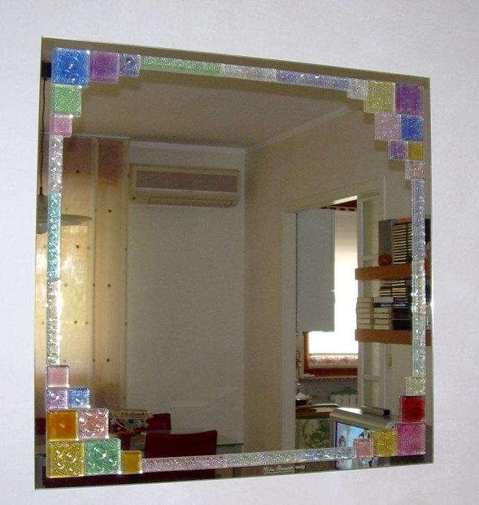 Quadri colorati vetreria recrosio - Specchi colorati ...